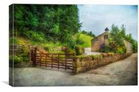 Country Stables, Canvas Print