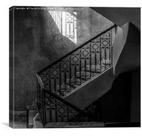 The Staircase, Canvas Print