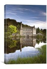 Gibson Mill, Canvas Print