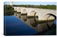 The Bridge of Don, Canvas Print