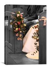 Wedding Bouquet, Canvas Print