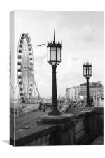 Brighton in an picture, Canvas Print