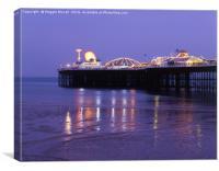 Palace Pier, Brighton, Canvas Print