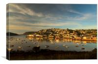 Sunrise, Salcombe Estuary Devon , Canvas Print