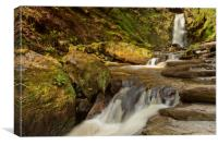 WATERFALL ( PISTYLL RHAEADR), Canvas Print