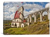 LAXEY WHEEL (Isle of Man), Canvas Print