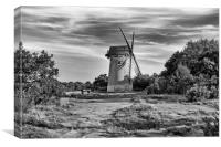 WINDMILL ( BIDSTON HILL ), Canvas Print