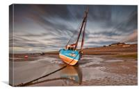 MEOLS BEACH(After Sunset), Canvas Print