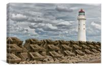 PERCH ROCK LIGHTHOUSE(Another Angle), Canvas Print