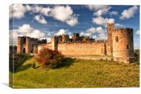 ALNWICK CASTLE ( Where History Lives ), Canvas Print