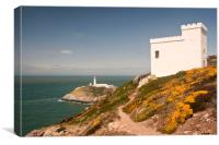 SOUTH STACK LIGHTHOUSE (Anglesey), Canvas Print