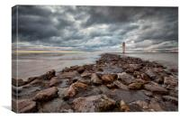 LIGHTHOUSE ( Perch Rock ), Canvas Print