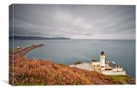 DOUGLAS HEAD LIGHTHOUSE  ( Isle of Man ), Canvas Print