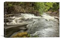 LOWER SWALLOW FALLS ( Betws y coed North Wales ), Canvas Print