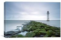 New Brighton Lighthouse (Above and Beyond), Canvas Print