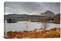 Loch Lomond Scottish Highlands, Canvas Print