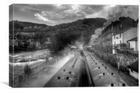 """""""Llangollen Steam"""", Canvas Print"""