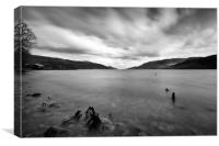 """Loch Ness"" (Fort Augustus Scotland), Canvas Print"