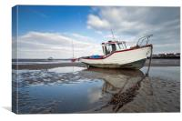 """Maggie (B) Fishing Boat, Canvas Print"