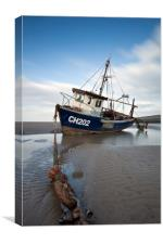 """Sea Fisher Trawler"", Canvas Print"