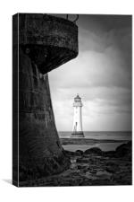 Perch Rock (Fort&Lighthouse), Canvas Print