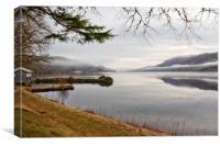 Rolling Mist (Loch Ness Scotland), Canvas Print