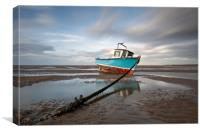 """Fishing Boat"" (North West Beach), Canvas Print"