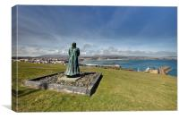 Watching Over Douglas Harbour, Canvas Print