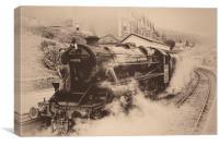"""Memories of Steam"", Canvas Print"