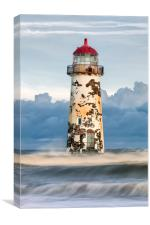 """Talacre Lighthouse"", Canvas Print"