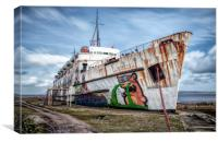 """Set in Stone"" (Duke of Lancaster), Canvas Print"