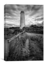 Leasowe Lighthouse, Canvas Print