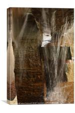 Waterfall Abstract, Canvas Print