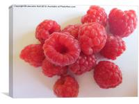The Raspberries, Canvas Print