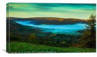 Mystical Valley, Canvas Print