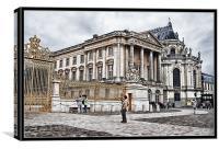 Chateau de Versailles, Canvas Print