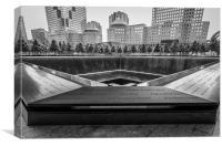 9/11 Memorial, Canvas Print