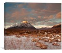 Good Morning Glencoe, Canvas Print