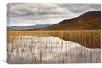 Loch Cill Chriosd,Skye, Canvas Print