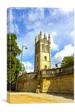 Magdalen Tower Oxford, Canvas Print