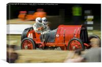 Vintage speed, Canvas Print