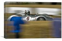 Vintage speed, Canvas Print
