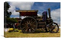 Road locomotive, Canvas Print