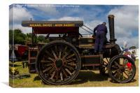 The road Locomotive, Canvas Print