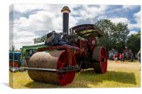 Steam Roller, Canvas Print