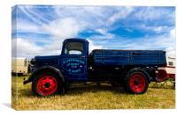 Classic truck, Canvas Print