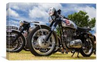 BSA Gold Star, Canvas Print