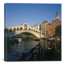 Rialto Bridge, Venice, Italy, Canvas Print