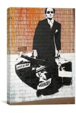 Blek Le Rat, Canvas Print