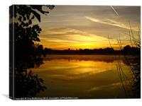 Sunrise Rickmansworth (2), Canvas Print